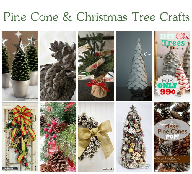 10 wonderful pine cone and christmas tree crafts for Pine cone christmas tree craft