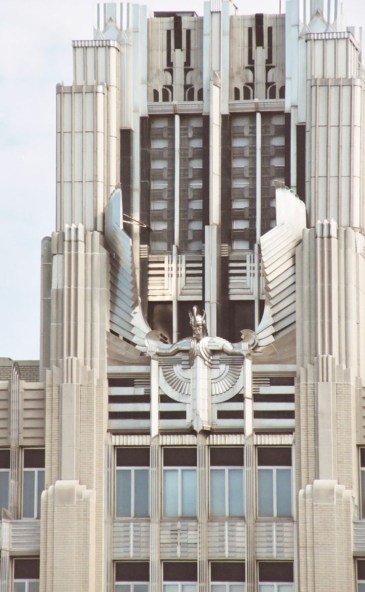 The Niagara Hudson Building in Syracuse is an outstanding example of Art Deco architecture and a symbol of the Age of Electricity. Completed in 1932, the building became the headquarters for the nation's largest electric utility company and expressed the technology of electricity through its modernistic design, material, and extraordinary program of exterior lighting.