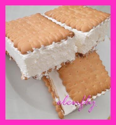 CookArt | by elenfly: ΠΑΓΩΤΟ ΣΑΝΤΟΥΙΤΣ - ICE CREAM SANDWICH