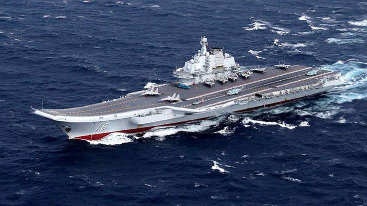 Los ejercicios del grupo de combate encabezado por el portaaviones Liaoning se realizan a unos días de la visita de la líder de Taiwán a EE.UU.