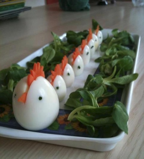 Cute Easter Egg Lunch