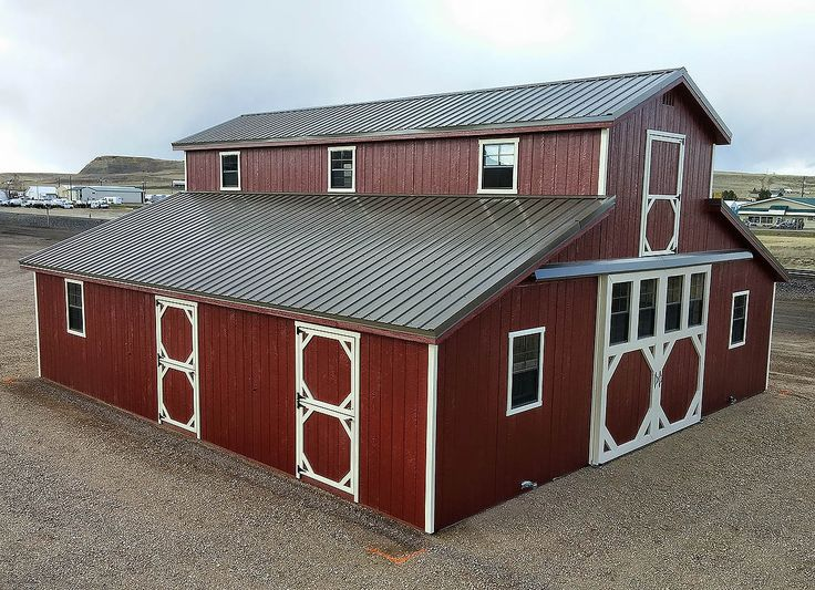 Montana Shed Center Ready Made Horse Barns Get Your Dream