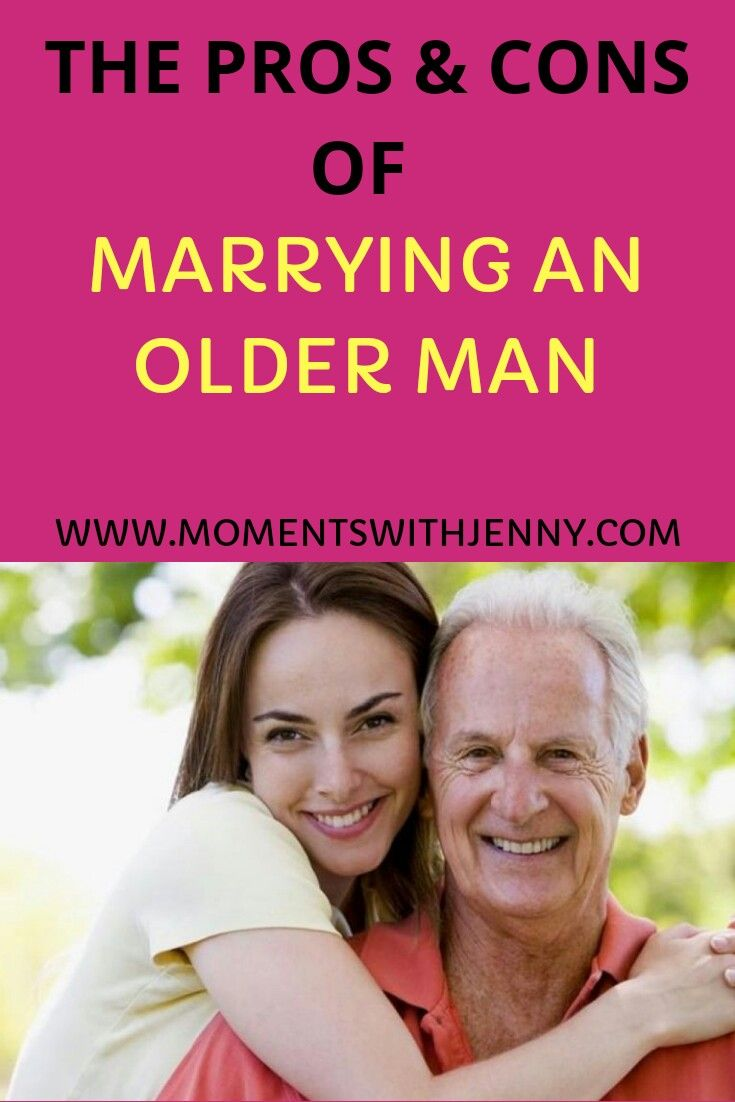 Dating an older guy 20 years