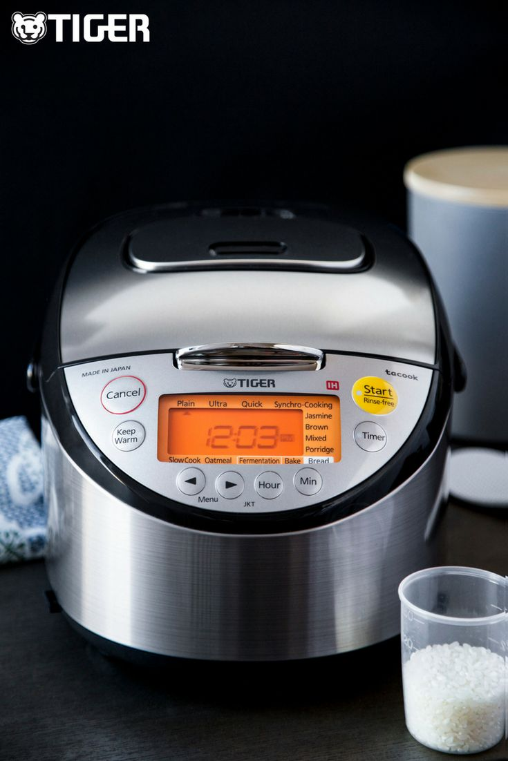 how to make congee in tiger rice cooker