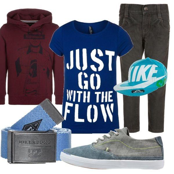 Un outfit comodo ma pieno di stile da vero skater boy!