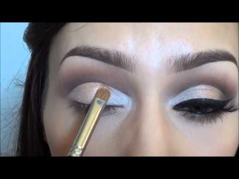cara make up HOW TO Cut crease eyeshadow tutorial 2014