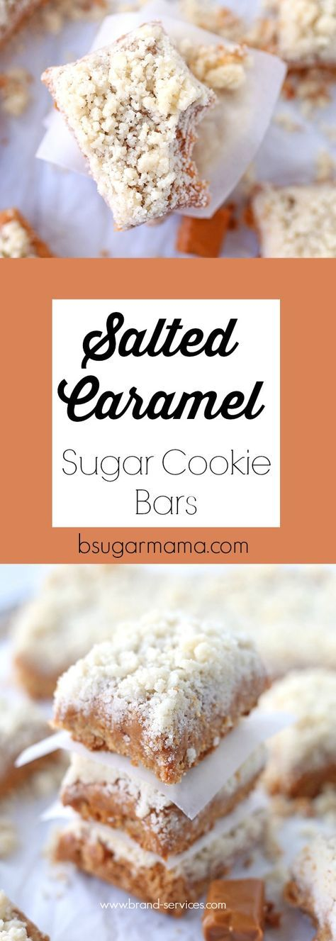 These Salted Caramel Sugar Cookie Bars are delicious, buttery, and chewy. This dessert bar is an easy dessert recipe using sugar cookie mix!