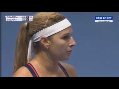 Yulia Putintseva vs Dominika Cibulkova Petersburg 2017 Semi-final 3 SET