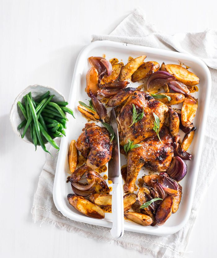 Roast need not be reserved for weekend cooking. This delicious recipe is quick and easy to prepare. Just think of the tasty leftovers for tomorrow.