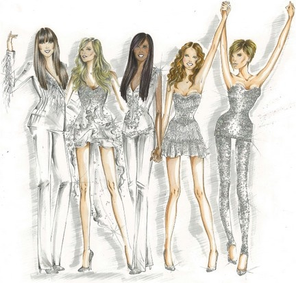 The Spice Girls By Roberto Cavalli