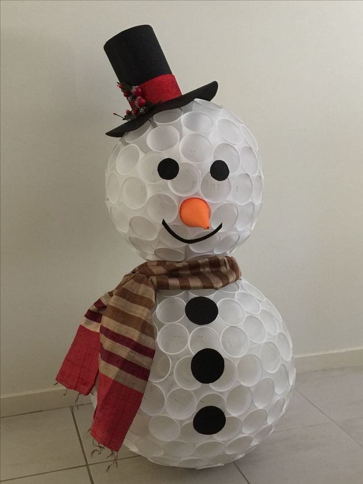 Snowman - DIY