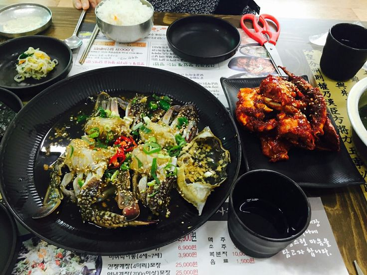 crab marinated in soy sauce 간장게장!! 양념게장!! 밥도둑임