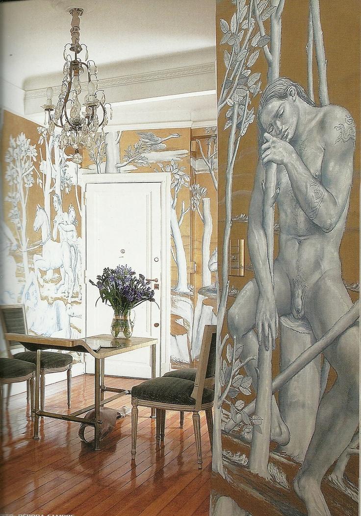 Painted murals en Buenos Aires con murals de Cinalli