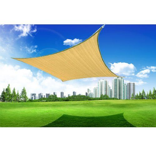 Outsunny 16.5' Square Outdoor Patio Sun Shade Sail Canopy - Sand Outsunny http://www.amazon.com/dp/B007D6NSX0/ref=cm_sw_r_pi_dp_CRD1tb0GAES13TAP