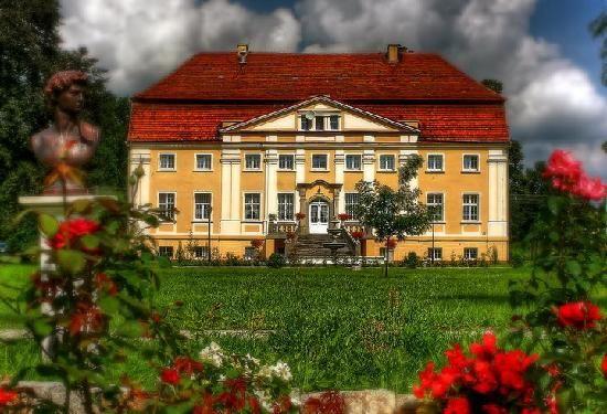 Palace Henryków, Szprotawa, Lubuskie province, Poland.