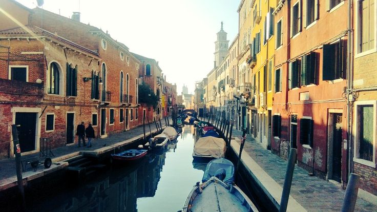 The winter is arrived, but with a sunny day! #venezia #venice