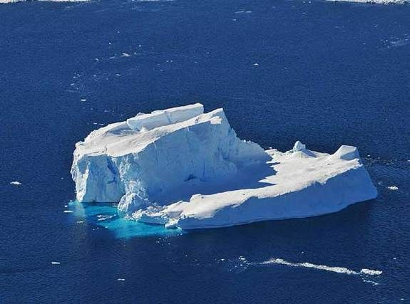 Antarctica, Iceberg MakerCredit: NASA/Jane PetersonIcebergs come in myriad shapes, large and small. This photo was taken out the window of a NASA DC-8 research aircraft from 2,000 feet above the Amundsen Sea in West Antarctica on Oct. 21, 2009...there are 7 more pix to see
