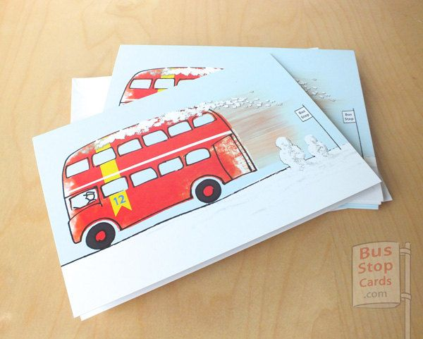 A crafter knows it's Christmas when a Royal Mail label and kerching!!! another order :)  Less than a month to go etsy shop: Routemaster London Bus Christmas Cards http://etsy.me/2k4NwuK #papergoods #christmas #londonbus #routemaster #bus #coach #transport #london #routemasterbus