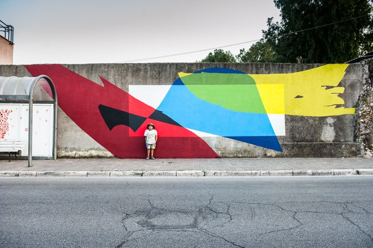 ELIAN CHALI  .. for Memoire Urbane ..  [Gaeta, Italy 2015]