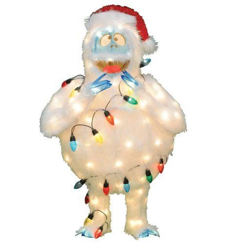 33 best rudolph and the misfit toys images on pinterest for Abominable snowman outdoor christmas decoration
