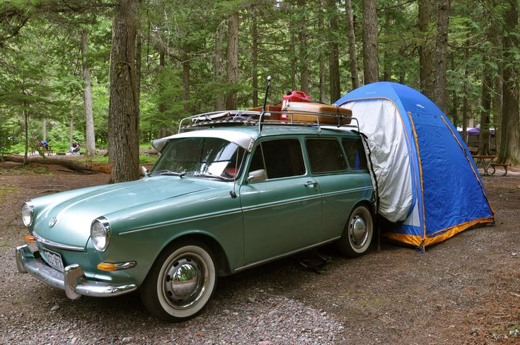 Camping in whitefish montana and glacier national park