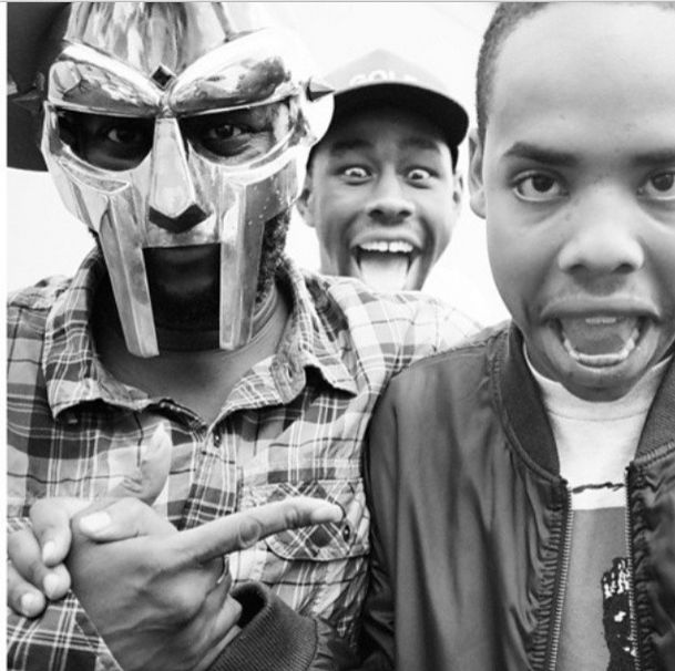 MF DOOM, Tyler the Creator and Earl Sweatshirt