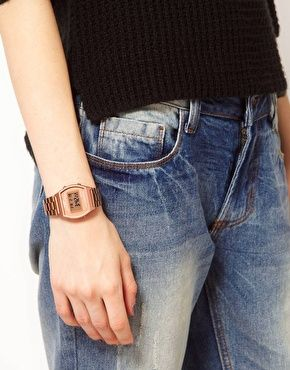 Casio Rose Gold B640WC-5AEF Digital Bracelet Watch