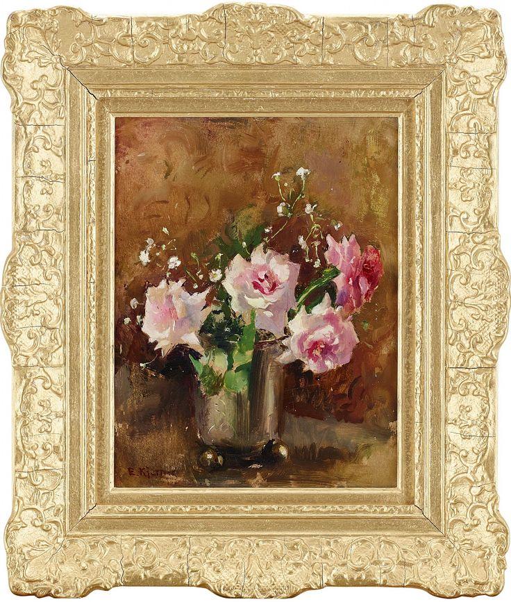 Esther Kjerner, Rosa rosor i silverbägare