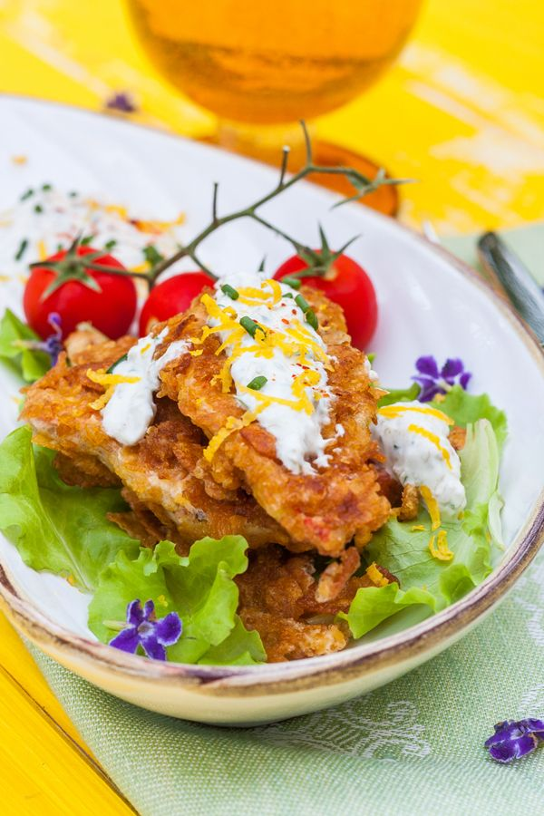 Cornflake crusted fish with tartar sauce recipe 2 for Tartar sauce for fish