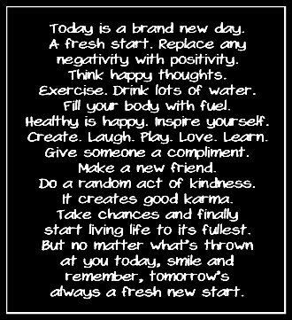 """This was so my plans I made for myself on New Years day & mt life has been so much better & ive felt like ive been on """"Happy High"""" ever since then!!  Positive thinking"""