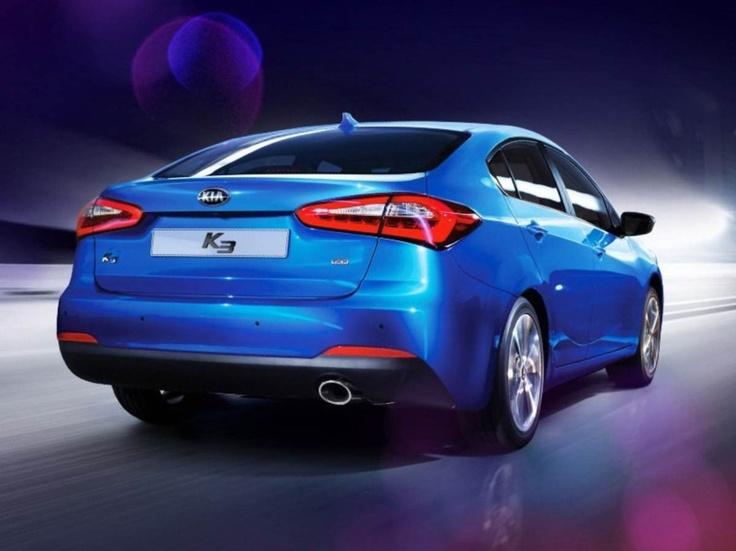 Kia Cerato 2013 blue