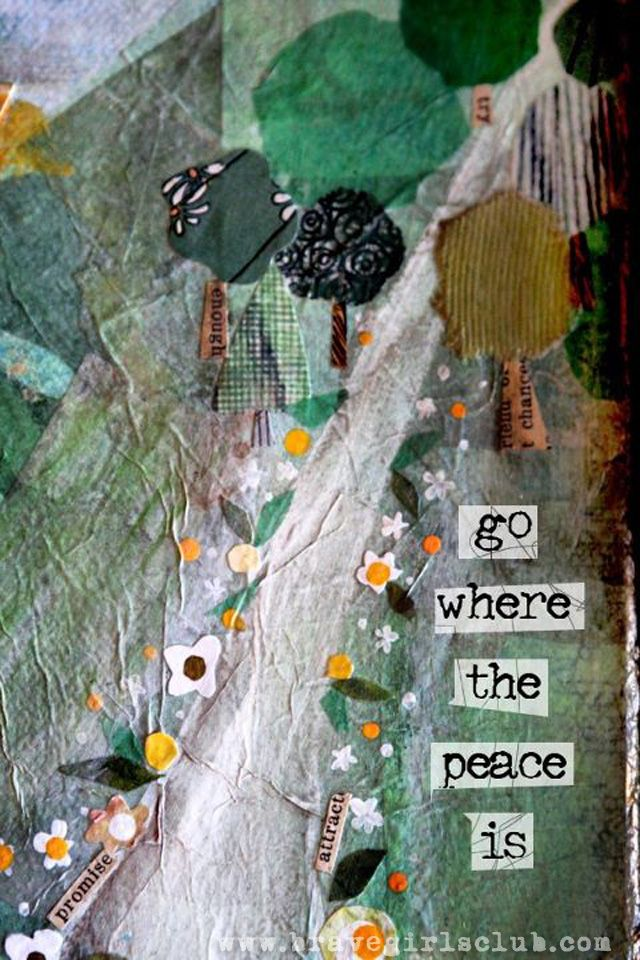 Brave Girls Club - Go where the peace is copy