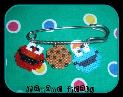 Imperdible Elmo, galleta, mostruo