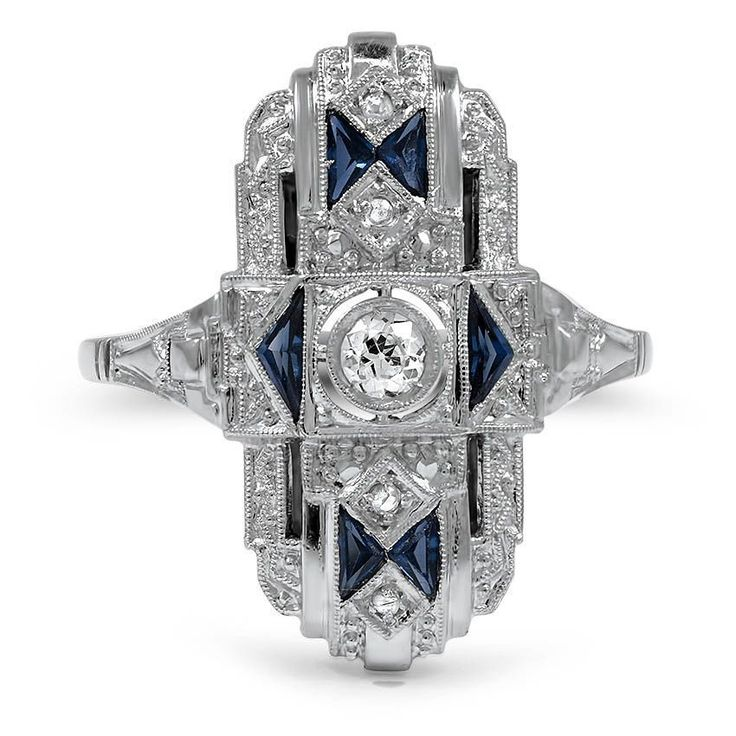 18K White Gold The Umika Ring from Brilliant Earth