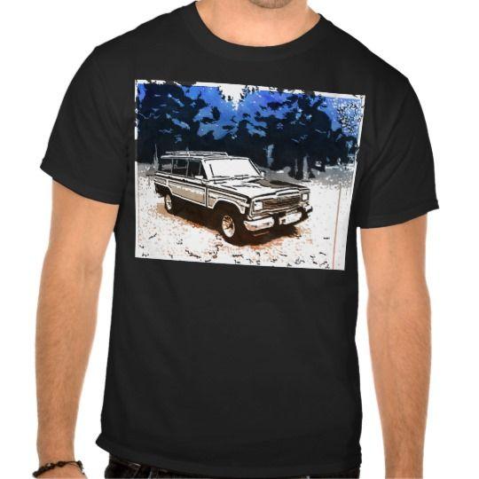 Classic Grand Wagoneer Tshirts