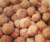 Raw Doughnut Balls