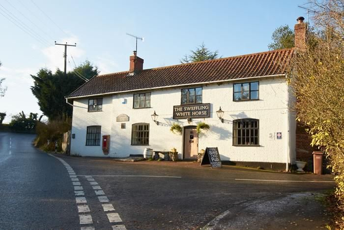 The Sweffling White Horse | Pub Self Catering in Suffolk