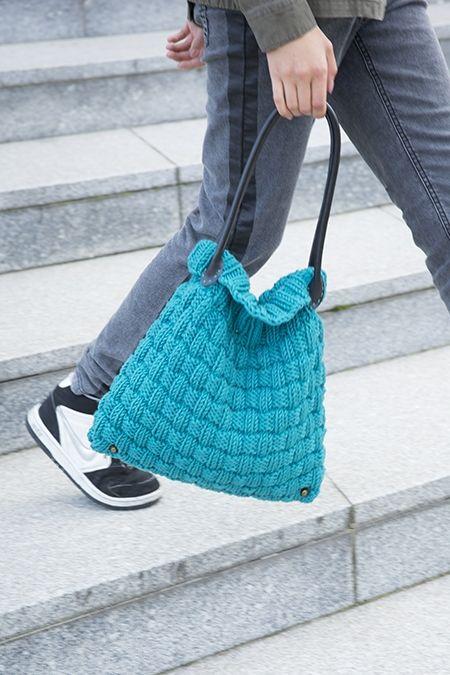 Sac Merino | Veritas | #sac #knit