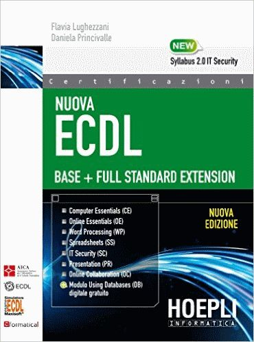 Sussidio didattico per acquisire conoscenze e competenze necessarie per affrontare le prove d'esame per il conseguimento della Nuova Patente Europea del Computer (ECDL Base e Full Standard).