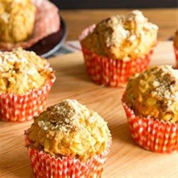 A delicious breakfast treat awaits. This carrot morning glory muffin is a crowd pleaser and you can even make it Gluten Free!