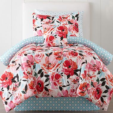 jcpenney.com | JCPenney Home™ Jenna Floral Comforter & Sheet Set