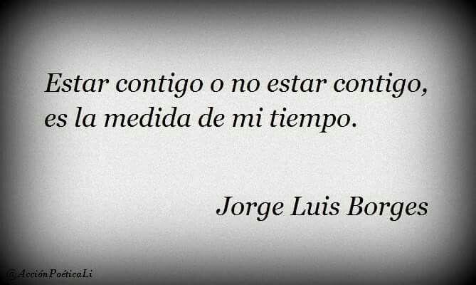 El tiempo de Borges