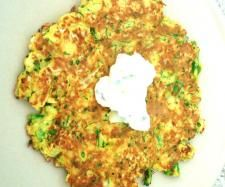 Broccoli and Cauliflower Pancakes (Thermomix)  pancakes  1 1/2 cups broccoli 1 1/2 cups cauliflower 4 Eggs, Large 2 tablespoons coconut flour 1 teaspoon ground cumin 1/2 teaspoon chilli flakes coconut oil for frying tahini sauce just mix 1 cup natural yogurt with 2 tbs tahini and chopped cucumber