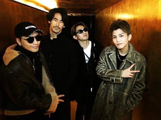 WEBSTA @ 3jsb_hiroomi_tosaka - @naokikobayashi_works @exile_naoto_ @takanori_iwata_official