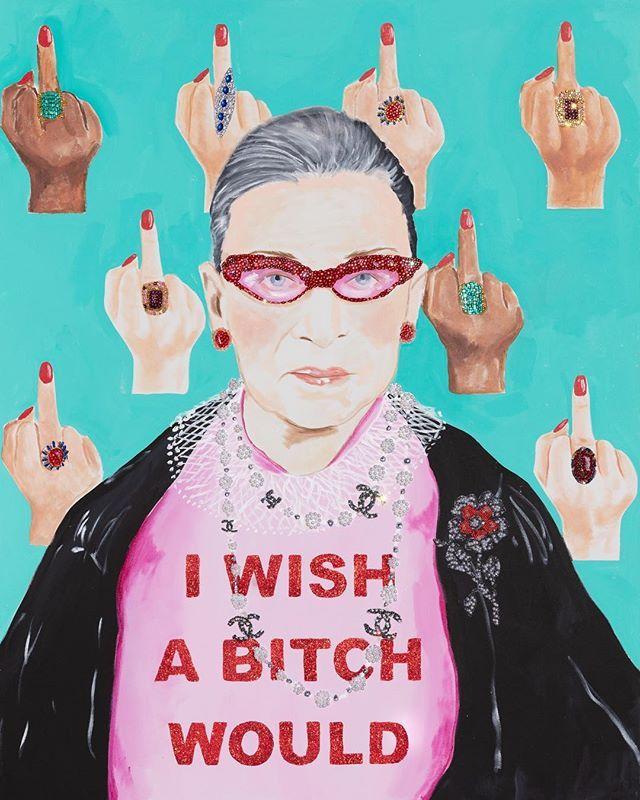 I wish a bitch would