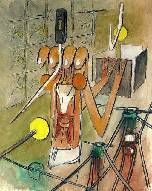 Painting by Roberto Matta | Flickr - Photo Sharing!