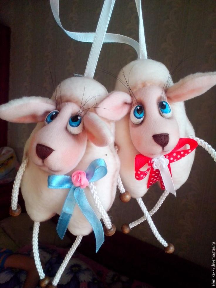 Создание милой овечки — новогоднего сувенира - Ярмарка Мастеров - ручная работа, handmade