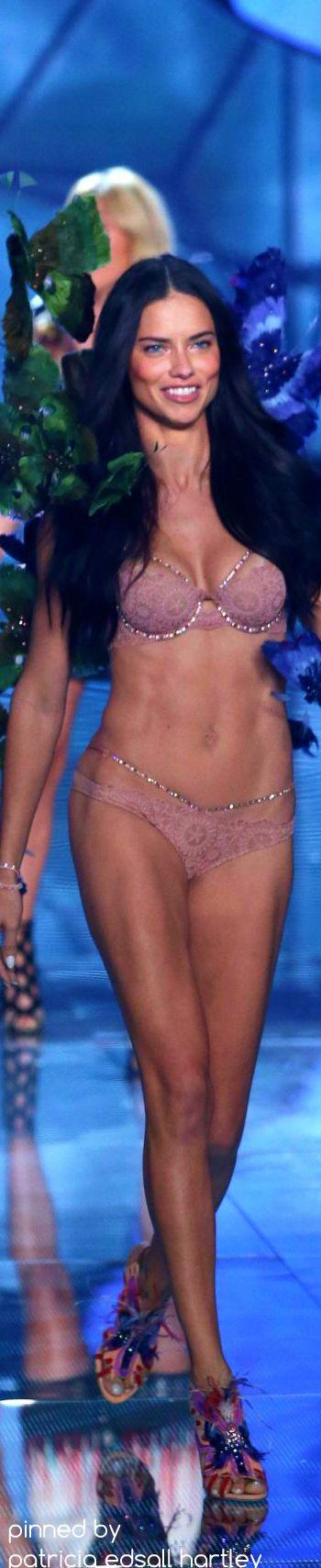 ADRIANA LIMA at Victoria's Secret 2015 Fashion Show