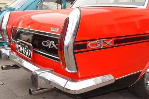 emblema chrysler simca esplanada gtx 1969