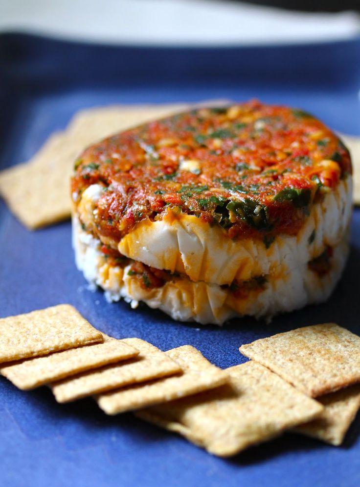 Smith's Vegan Kitchen: Cashew Mascarpone with Smoked Sundried Tomato Pesto